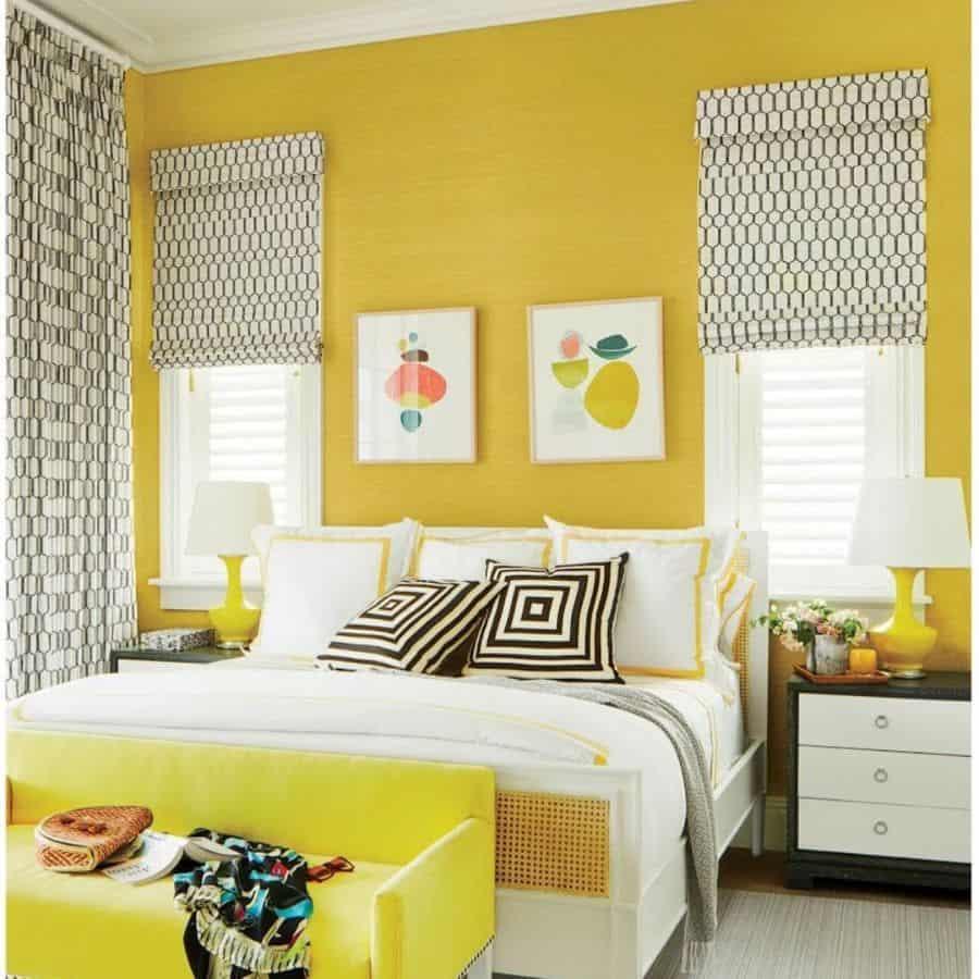 ideas yellow bedroom ideas christinamurphyinteriors