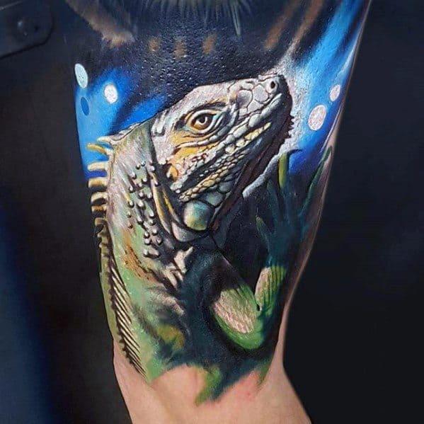 Iguana Guys Tattoos