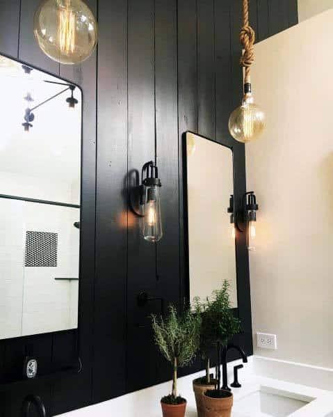 Impressive Black Bathroom Ideas