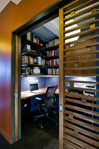 Top 40 Best Closet Office Ideas Small Work Space Designs
