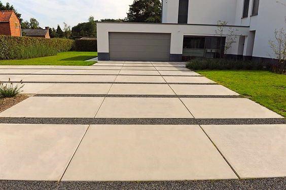 Impressive Concrete Driveway Ideas