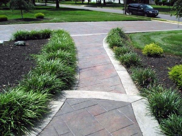 Impressive Concrete Walkway Ideas