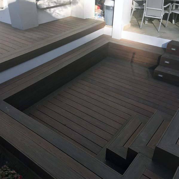 Impressive Deck Bench Ideas