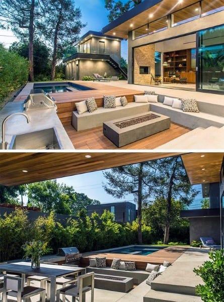 Impressive Deck Fire Pit Ideas