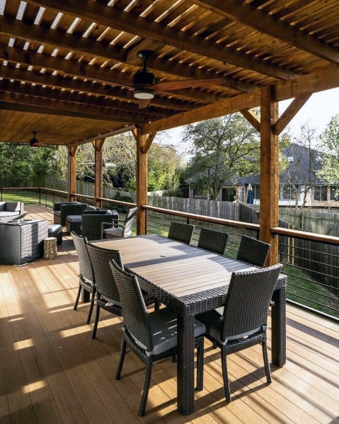 Covered Backyard Space Designs
