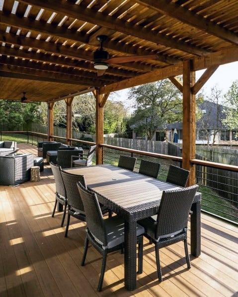 Impressive Deck Roof Ideas