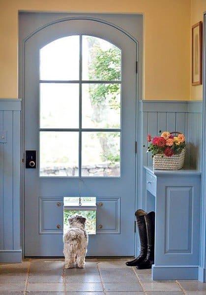Impressive Doggy Entrance At Bottom Of Door Ideas