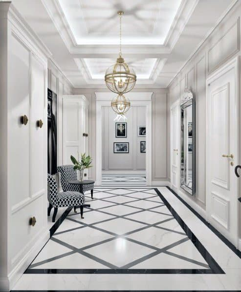 Classic Entrance Halls 10 Best: Top 50 Best Entryway Tile Ideas