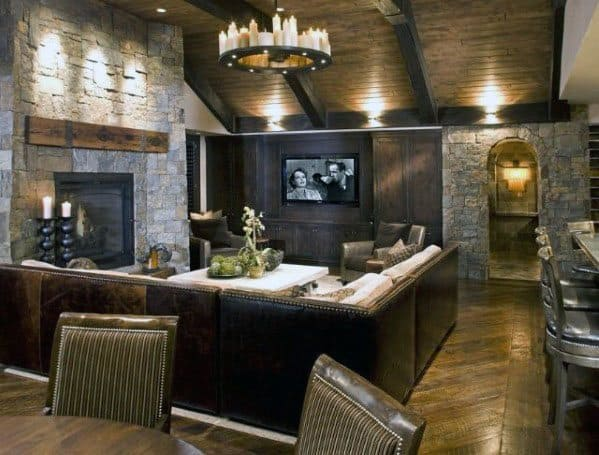 Impressive Finished Basement Ideas