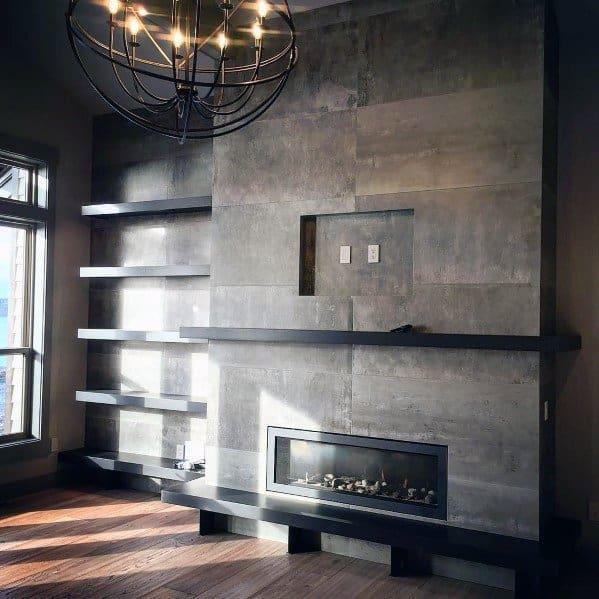 Impressive Fireplace Tile Ideas