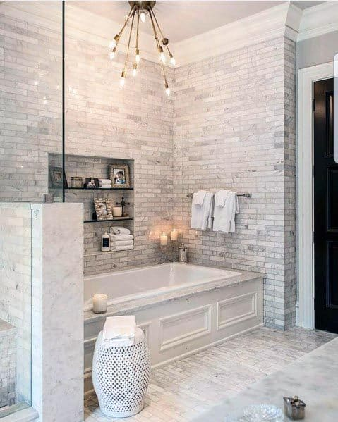 Impressive Grey Bathroom Ideas