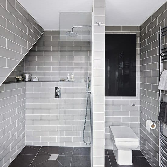 Impressive Grey Bathroom Tile Ideas