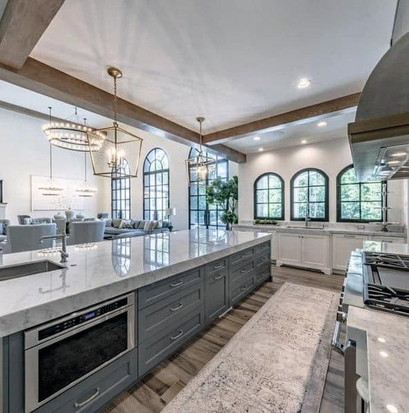 Impressive Grey Kitchen Ideas
