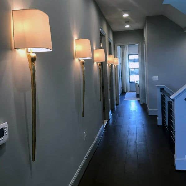 Top 60 Best Hallway Lighting Ideas
