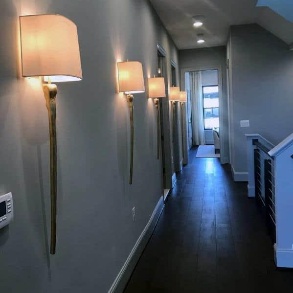 Impressive Hallway Lighting Ideas Wall Sconces