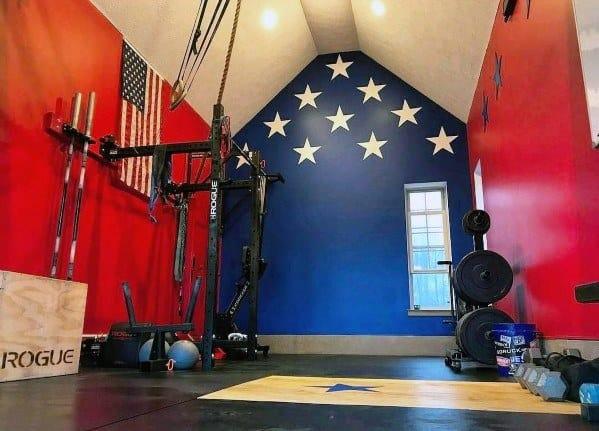 Impressive Home Gym Flooring Ideas