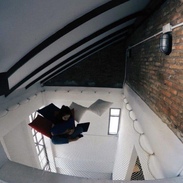Impressive Indoor Hammock Design Ideas