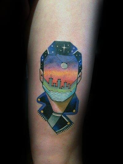 40 Disco Ball Tattoo Ideas For Men Groovy Designs