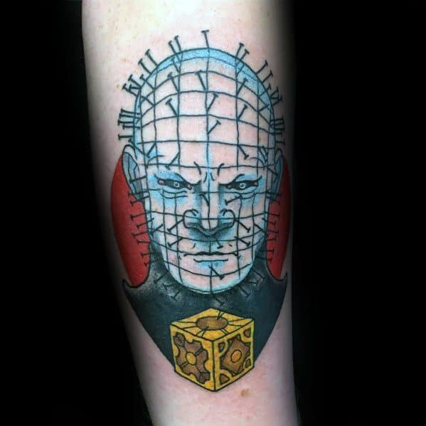 Impressive Male Hellraiser Tattoo Designs