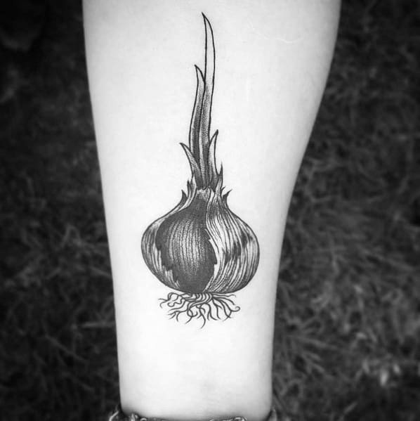 Impressive Male Onion Tattoo Designs
