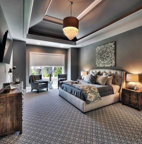 chandellier bedroom lighting ideas