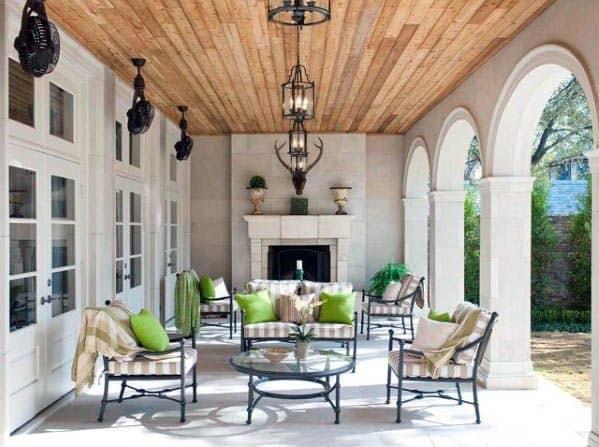 Impressive Patio Ceiling Ideas