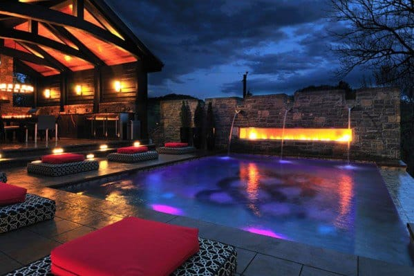 Impressive Pool Lighting Ideas