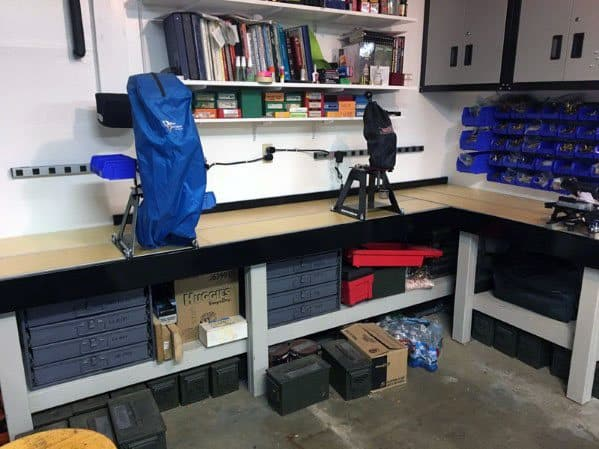 Impressive Reloading Bench Ideas