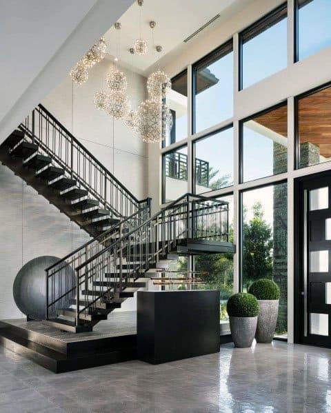 Impressive Stair Railing Ideas Interior