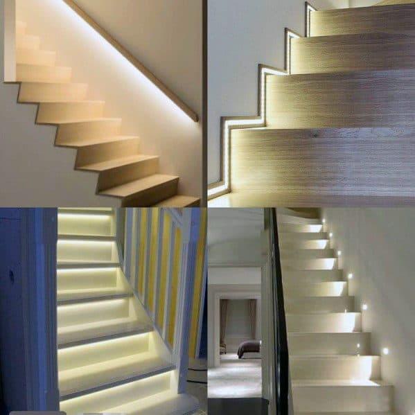 Impressive Staircase Lighting Ideas
