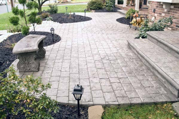 Impressive Stamped Concrete Patio Ideas