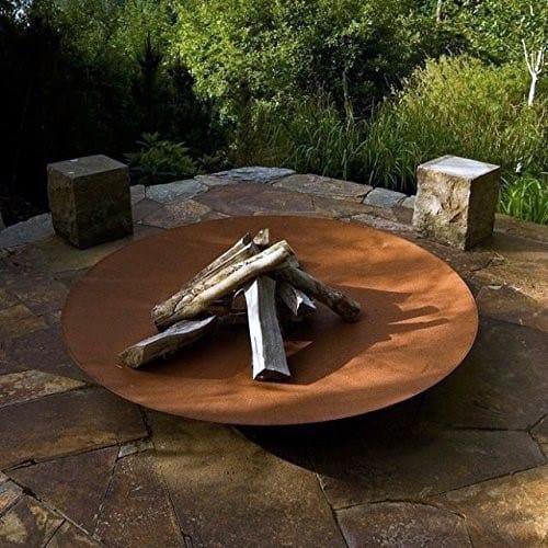 Impressive Steel Fire Pit Ideas