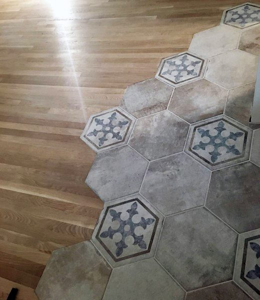 Impressive Tile To Wood Floor Transition Ideas