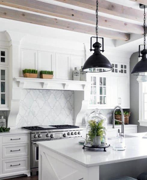 Impressive White Kitchen Ideas