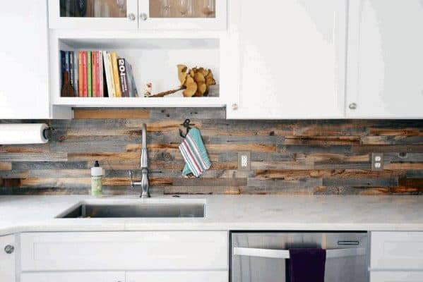 Outstanding Top 60 Best Wood Backsplash Ideas Wooden Kitchen Wall Download Free Architecture Designs Embacsunscenecom