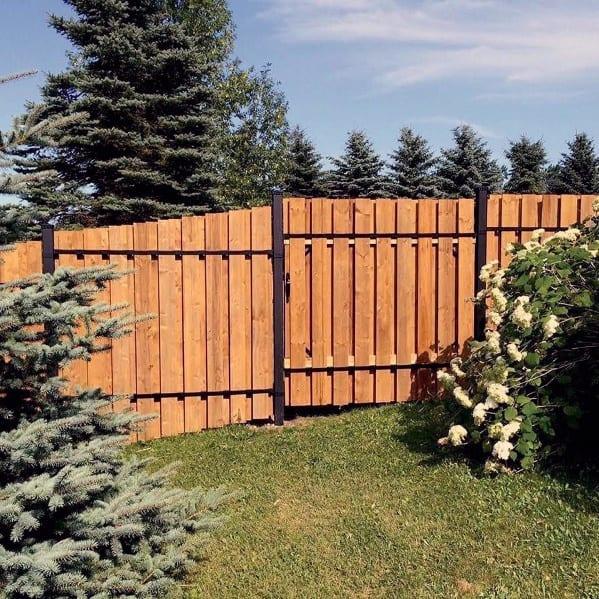 Impressive Wooden Fence Ideas