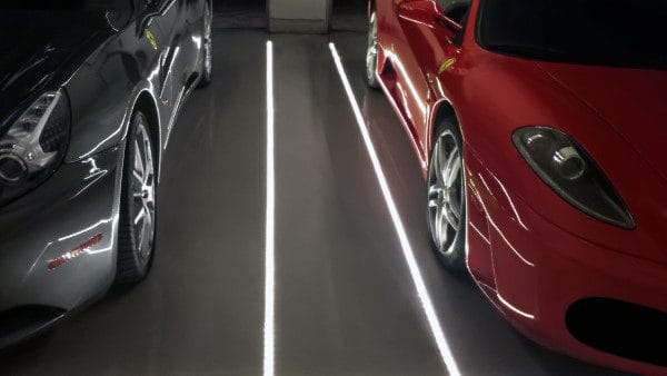 In Floor Led Garage Lighting