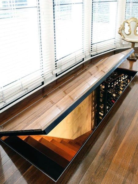 In Floor Wine Cellar Hidden Door Ideas
