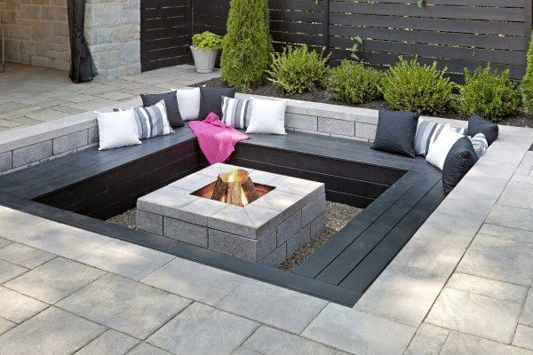 In Ground Fire Pit Ideas