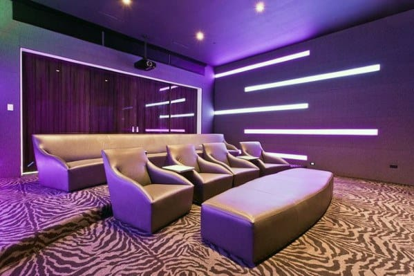 In Wall Home Theater Lighting