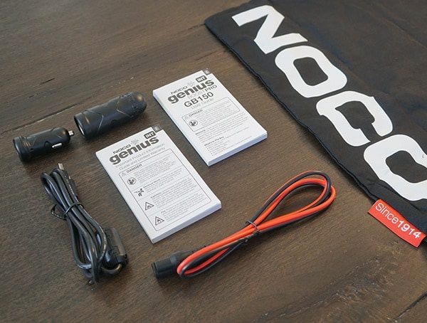 Included Accessories Noco Gb150 Boost Pro Jump Starters
