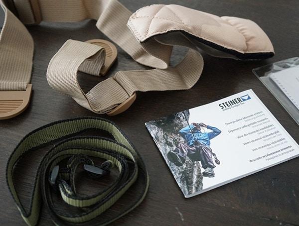 Included Accessories Steiner Military Marine 10x 50 Binoculars