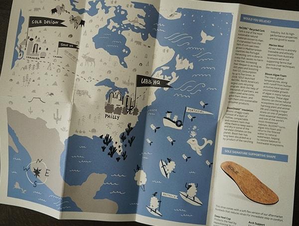 Included Map Sole X United By Blue Jasper Wool Eco Chukka