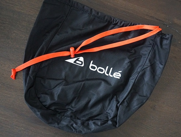 Included Protective Bag Cover Bolle Instinct Mips Helmet
