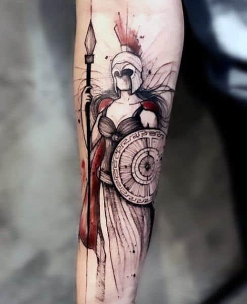 Incredible Athena Tattoos For Men