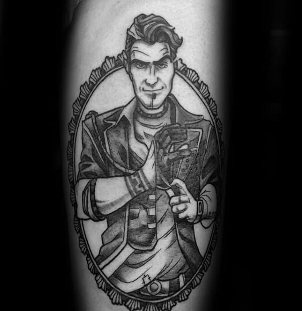 Incredible Borderlands Tattoos For Men