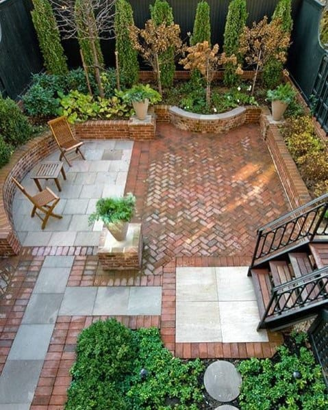 Incredible Brick Patio Layout Ideas For Backyard