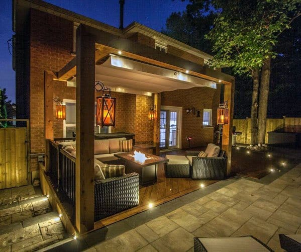 Incredible Deck Lighting Home Designs