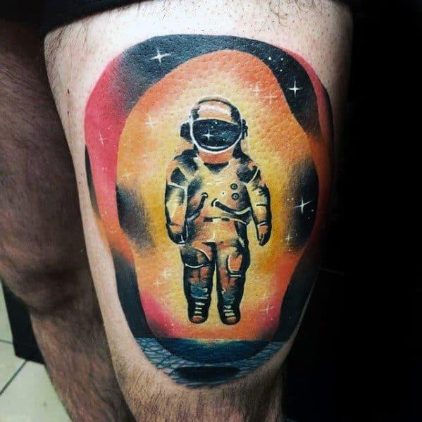 Incredible Deja Entendu Tattoos For Men