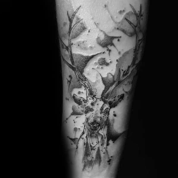 Incredible Elk Tattoos For Men